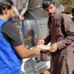 Afrin'e 5 tır insani yardım malzemesi gönderildi