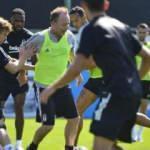 Beşiktaş'ta Sergen Yalçın sahaya indi