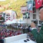Erdoğan, Giresun ve Gaziantep'te oluşan kalabalık görüntüler ile ilgili ilk kez konuştu