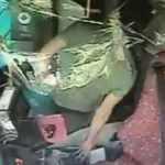 Halk otobüsünde akılalmaz hırsızlık!