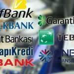 Kredi faiz oranları değişti: Ziraat, VakıfBank, HalkBank, Garanti, İş Bankası, TEB...