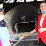 Kadın belediye başkanından mancarlı pide ikramı
