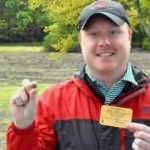 Parkta yürürken 9 karatlık elmas buldu