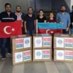 Milliyetçi Hekimler Derneği'nden Azerbaycan'a tıbbi malzeme desteği