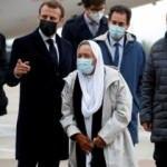 Esaretten kurtarılan kadın Müslüman oldu! Macron karşıladı: Adım artık Sophie değil, Meryem
