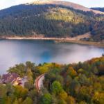 Abant Tabiat Parkı'nda kartpostallık sonbahar manzaraları