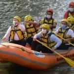 Bakan Soylu Kato'da rafting yaptı