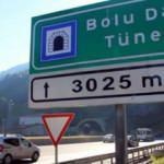 Bolu Dağı tünelinin Ankara yönü ulaşıma kapanıyor