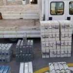 Denizli'de baz istasyonlarından çalınan 81 akü ele geçirildi