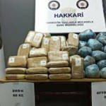 Hakkari'de 139 kilo 80 gram uyuşturucu ele geçirildi