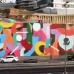 İBB'nin 'dikey bahçe yerine grafiti' çalışması tartışmalara neden oldu