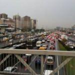 İstanbul'da cuma trafiği yoğunluğu yüzde 80'e ulaştı