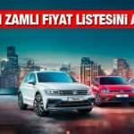 Volkswagen sıfır araç fiyatlarına yeniden zam yaptı! Yeni Passat, Polo, Golf, Tiguan, fiyatları