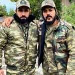 Azerbaycan için cephede gönüllü oldu!