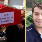 Bakan Koca'da şehit sağlık personeli Burak Tatar'ın ailesini ziyaret etti