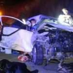 Adana'da katliam gibi kaza: 4 ölü, 4 yaralı