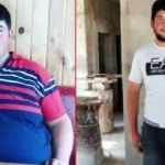 Askerlik yapabilmek için 3 ayda 61 kilo verdi