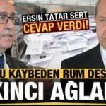 İlk turu kaybeden Rum destekçisi Mustafa Akıncı ağladı, Ersin Tatar sert cevap verdi!