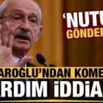 Kılıçdaroğlu'ndan komedi gibi yardım iddiası: Nutuk gönderdik!