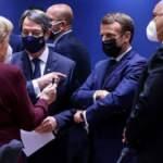 Macron ve Merkel Brüksel'de Türkiye'yi dillerinden düşürmedi! Yine skandala imza attılar