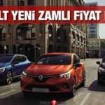 Renault sıfır araç modellerine Ekim ayında zam yaptı! İşte Clio Kadjar Megane güncel fiyatları