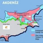 Mustafa Akıncı'nın tepki çeken sözleri sonrası Rumların gizli Kıbrıs haritası ortaya çıktı