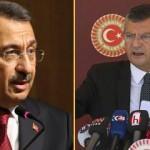 CHP'li Özel'in yolsuzluk iftirasına Fuat Oktay'dan sert tepki