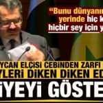 Türkiye'den Azerbaycan elçisini duygulandıran hediye! Cebinden zarfı çıkarıp açıkladı