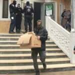 Camiye yapılan baskının ardından  devlet kumpası çıktı