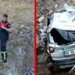Feci kaza! Araç dereye yuvarlandı, anne- kız hayatını kaybetti