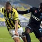 Fenerbahçe, 9 maç sonra Trabzonspor'u mağlup etti