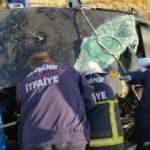 Nevşehir'de otomobil şarampole devrildi: 1 ölü 2 yaralı