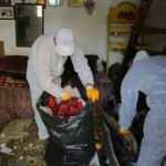 Sivas'ta çöp evde yaşayan yaşlı kadın koronavirüslü çıktı