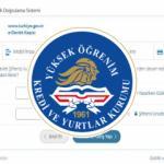 KYK burs ve kredi  başvuru yapma | KYK yurt ve burs başvurusu E-devlet nasıl yapılır?