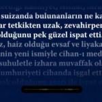 Atatürk'ün Meclis kürsüsünden yaptığı ilk konuşma seslendirildi