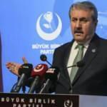 BBP Genel Başkanı Destici: Bu depreminde yaralarını inşallah hep birlikte saracağız