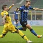 Inter puanı 90+1'de kurtardı