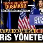 Demokratlar kazanırsa ABD'yi Biden değil Harris yönetecek! Tescilli Türkiye düşmanı...