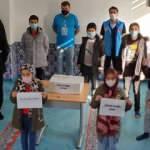 Almanya'da çocuklar İzmir'deki depremzedeler için yardım topladı