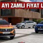 Dacia Kasım ayı zamlı fiyat listesi: 2020 Duster, Sandero, Lodgy, Dokker Combi fiyatı