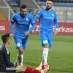 Erzurumspor kupada gol oldu yağdı