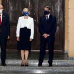 KKTC Cumhurbaşkanı Tatar ile Rum lider Anastasiadis ilk kez bir araya geldi