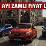 Renault'dan 2020 araç modellerine zam yaptı: Yeni Clio Megane Symbol güncel fiyatları
