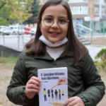 9 yaşındaki Çiçek, pandemi döneminde kitap yazdı
