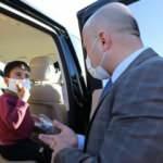 Ağrı Valisi Varol makam aracını çocuklara tahsis etti