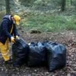 Belgrad Ormanı'nda 22 ton çöp toplandı