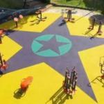 CHP'li belediye çocuk parkına 'YPG/PKK' paçavrasını resmetti