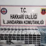 Hakkari'de kaçak 5 bin paket sigara ele geçirildi