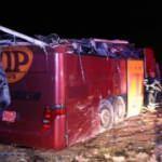 Irak'tan Samsun'a yolcu taşıyan otobüs Şanlıurfa'da devrildi: 32 yaralı