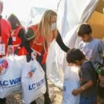 Kızılay Süzer işbirliği ile depremzede çocuklara giyecek ve uyku tulumu desteği
